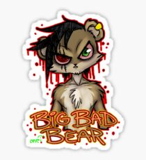 Big Bad Bear Sticker
