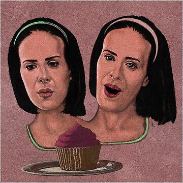 Bett and Dot Tattler  by zinakorotkova