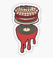 Let It Bleed - Rolling Stones Cake Design Sticker