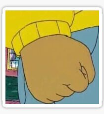 Arthur's Fist Sticker