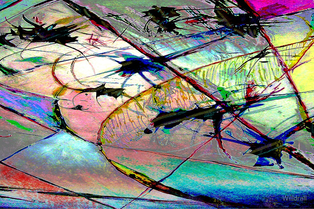 Blue Flight by Willdrall