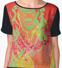 Womens' Protest March Tucson and beyond - NASTY Woman ART Women's Chiffon Top