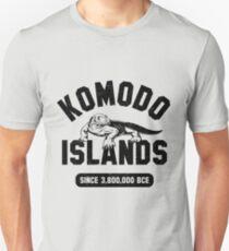 Komodo Dragon Distressed Look T-Shirt