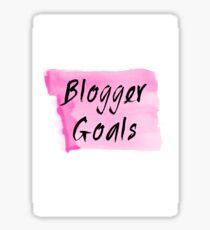 Blogger Goals Sticker