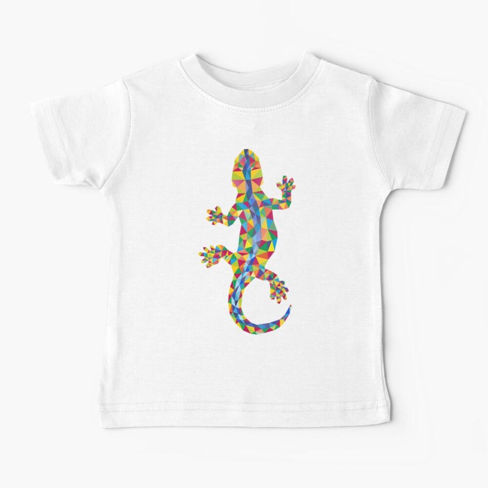 Vivid Barcelona Stadt Eidechse Baby T-Shirt