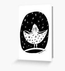 Dress of Stars Greeting Card