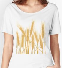 Ears of wheat Women's Relaxed Fit T-Shirt