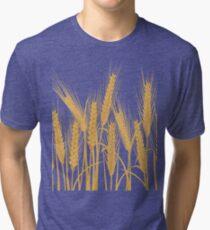 Ears of wheat Tri-blend T-Shirt