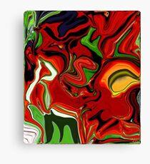 """Friends"", Digital Painting  Canvas Print"