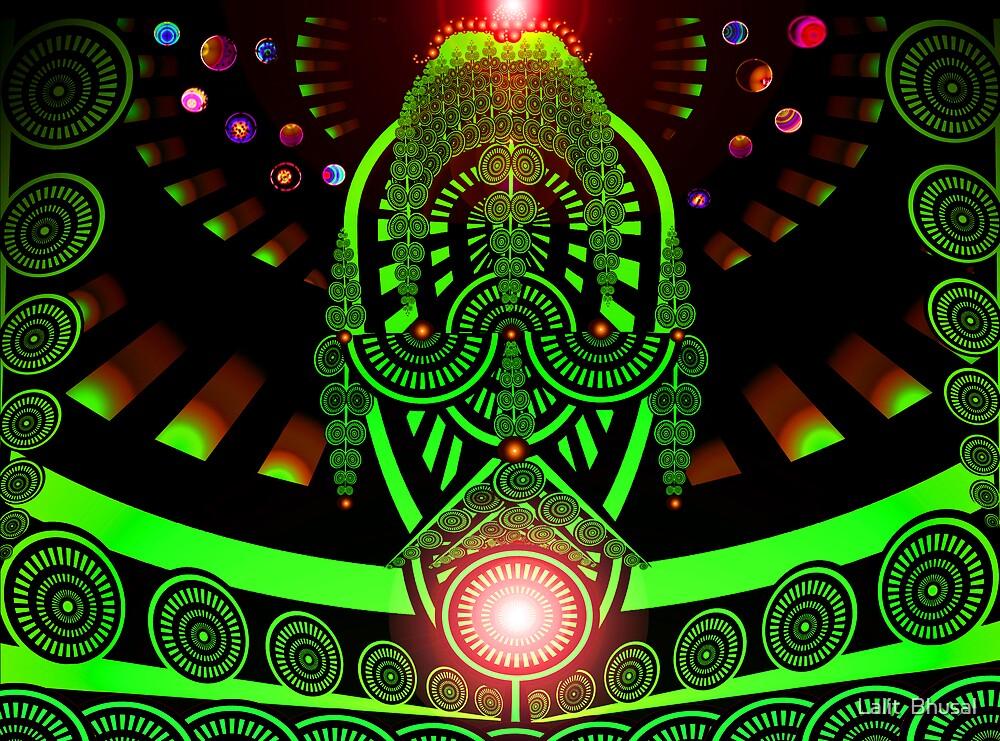 Alien King by Lalit  Bhusal