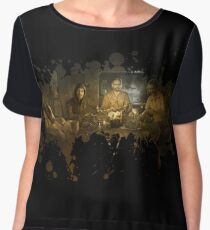 Resident evil 7 welcome to the family Chiffon Top