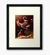 Zuko Framed Print