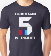 N°5 - NELSON PIQUET - BRABHAM BT52 - 1983 T-Shirt