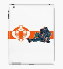 JOIN COBRA, NAIL UR COMMANDER  iPad Case/Skin