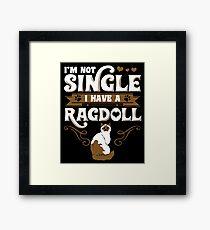 Ragdoll Cat Animal Kitten Framed Print