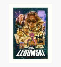 Lebowski Star Wars Poster Art Print