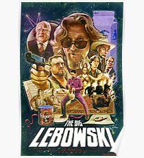 Lebowski Star Wars Poster Poster
