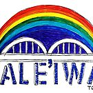 Hale'iwa Town Rainbow Bridge by northshoresign