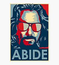 Abide - The Dude Tee T-Shirt Photographic Print