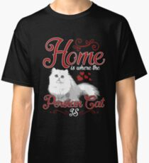 Persian Cat Animal Exotic Classic T-Shirt