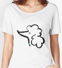 Poodle head Women's Relaxed Fit T-Shirt