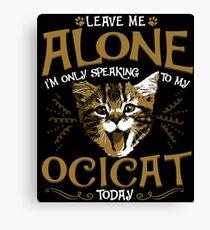 Ocicat Cat Pet Animal Canvas Print