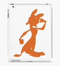 Daxter Silhouette - Orange iPad Case/Skin