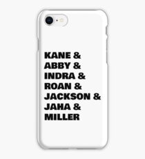 The 100 Team Adults iPhone Case/Skin