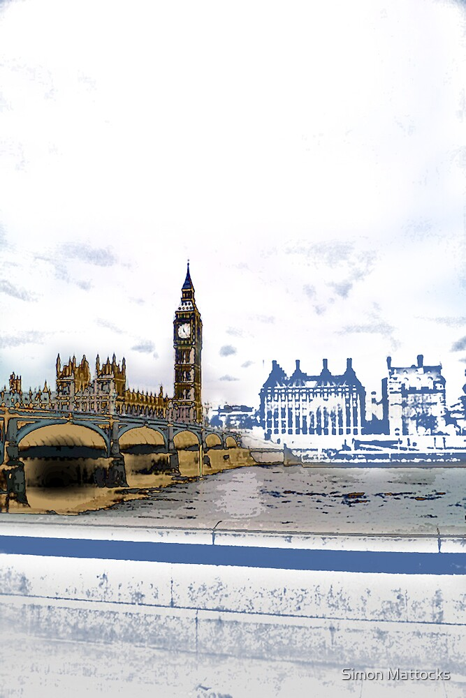 London Big Ben View by Simon  Mattocks