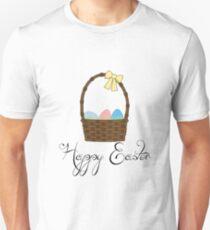 Happy Easter Basket Unisex T-Shirt