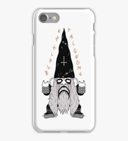Black Metal Gnomo iPhone Case/Skin