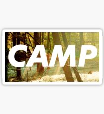 Childish Gambino Camp Sticker