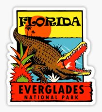 Everglades National Park Florida Vintage Travel Decal Sticker
