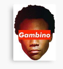 Childish Gambino x Supreme Canvas Print