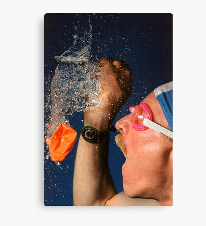 Waterburst Canvas Print