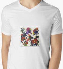 Gewaschen - Paracosm T-Shirt mit V-Ausschnitt