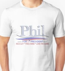 Phil Kessel for President Unisex T-Shirt