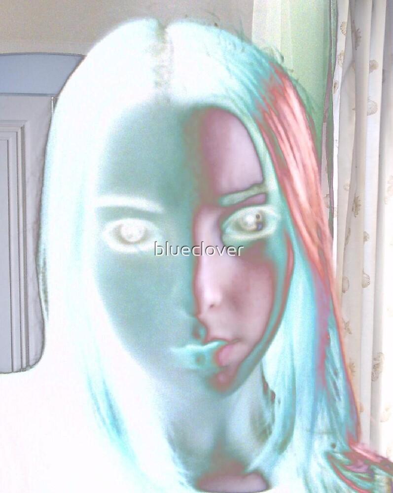 Eerie Self Portrait 2 by blueclover