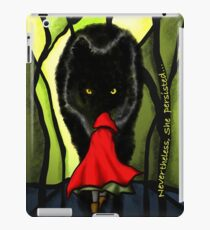 Nevertheless She Persisted Little Red Riding Hood iPad Case/Skin
