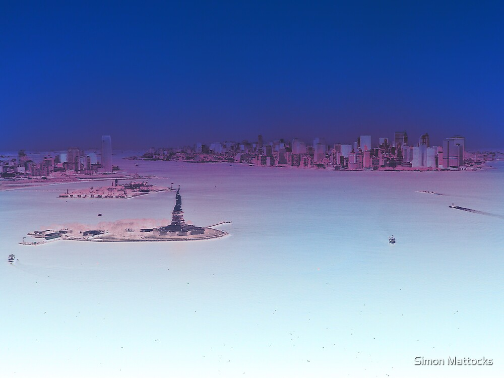 New York Entrance by Simon  Mattocks