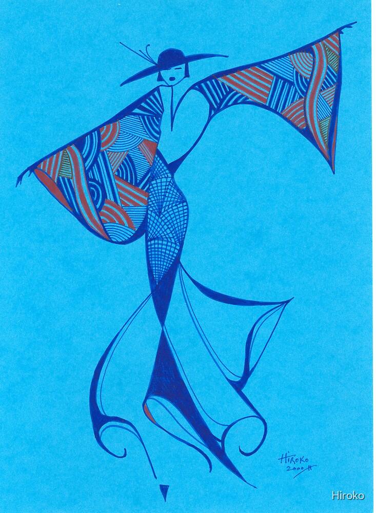 Brazilian Dancer - Series  1 by Hiroko