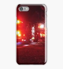 Emergency Lights iPhone Case/Skin