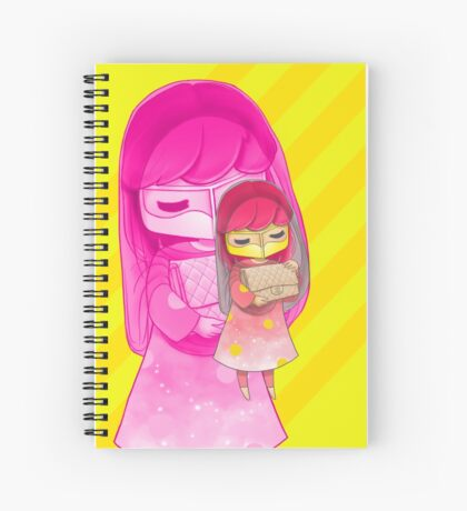 Lemon Blush Spiral Notebook
