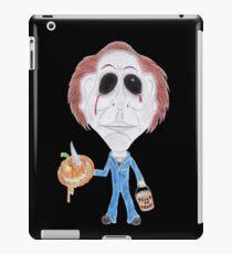 Horror Movie Serial Killer Caricature iPad Case/Skin