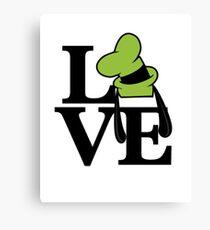 Goofy Love Canvas Print