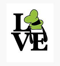Goofy Love Photographic Print