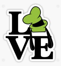 Goofy Love Sticker