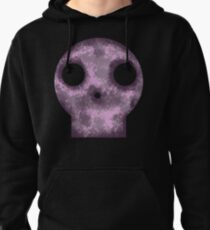 Purple Skull Decay Pullover Hoodie