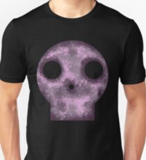 Purple Skull Decay Unisex T-Shirt