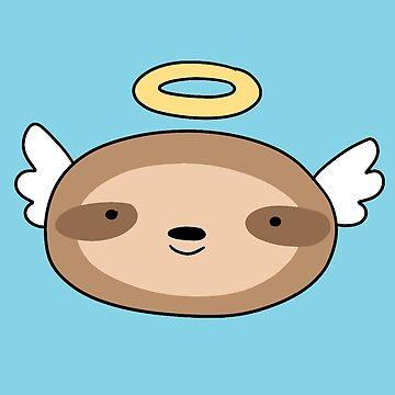 Sloth Angel Face by SaradaBoru